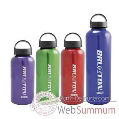 Gourde Flasks 0,6 L Brunton -WIDE 06 RED