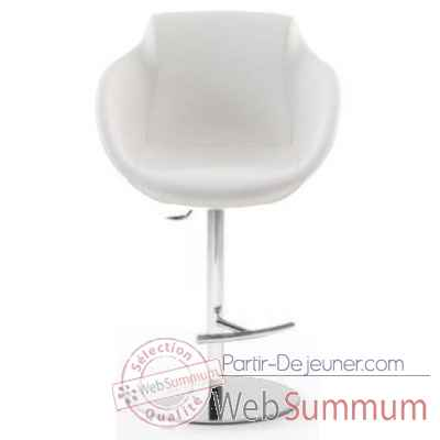 Tabouret de bar marty en cuir arteinmotion -sed-bar0193