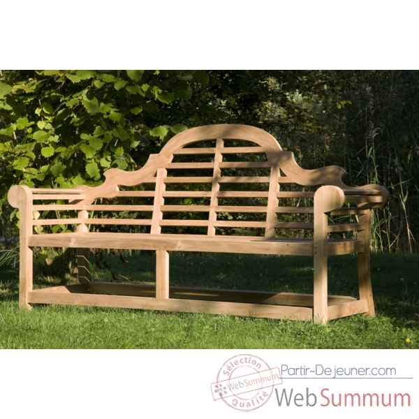 Banc norwalk 120 cm en teck naturel 60-087