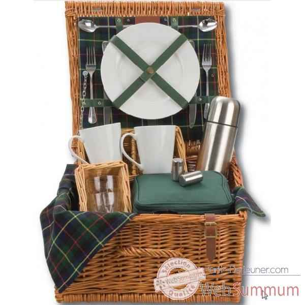 Panier pique nique gordon 2 personnes tea hamper - classic collection Optima -228 533