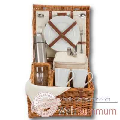 Panier pique nique naturals 2 personnes tea hamper - classic collection Optima -228 534