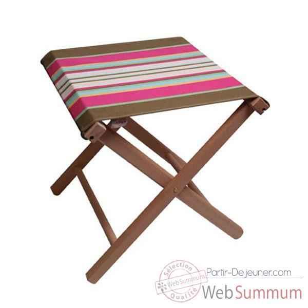 pliant p che artiga guethary coton dans chaises pliante sur partir dejeuner. Black Bedroom Furniture Sets. Home Design Ideas