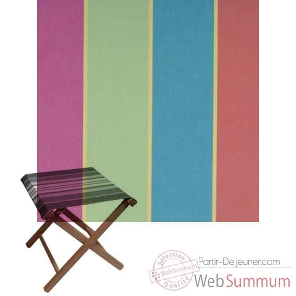 tabouret repose pieds pliant artiga coton dans chaises pliante sur partir dejeuner. Black Bedroom Furniture Sets. Home Design Ideas